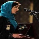 حضور آبجی مرجان اشرفی زاده در جشنواره فجر