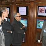 بازدید کیارستمی از موزه صلح و دیدار با جانبازان