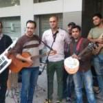 حامى بعد از پنج سال دورى از کنسرت در خیابان براى مردم خواند