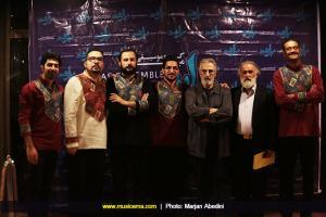 DD3A3008 کنسرت گروه میراث در فرهنگسرای نیاوران تهران برگزار شد