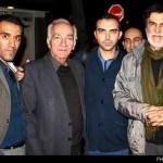 حبیب به دیدار خانواده مرتضی پاشایی رفت